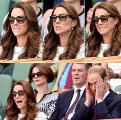 A woman of many (hilarious) faces! Find out what made Kate Middleton cringe at Wimbledon!  http://www.usmagazine.com/celebrity-news/news/kate-middleton-makes-hilarious-faces-at-wimbledon-pictures-201427