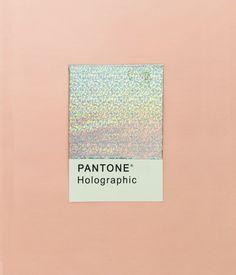 #Hologram Colour Inspo #peach #pantone