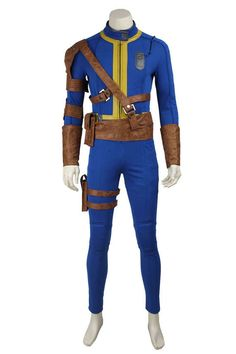 Fallout 4 Survivor Nate Game Cosplay Costumes