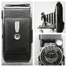 A classic folding german camera, Zeiss ikon Simplex dated 1928, one of the oldest cameras in my collection. It could be closed to be more compact and portable. I shot a roll with that and it works perfectly!