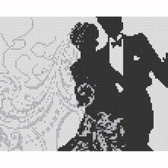 Image from http://www.artfire.com/uploads/product/9/939/15939/1115939/11115939/large/silhouette_wedding_couple_counted_cross_stitch_pattern_ad8c271b.jpg.