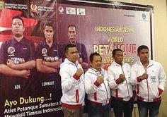 Championnats du Monde de pétanque à Madagascar avec l'équipe d'Indonésie