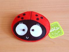 Wemba the Ladybug Purse by lovelia on Etsy, $16.00