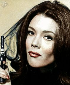 *m. Diana Rigg as Mrs Peel