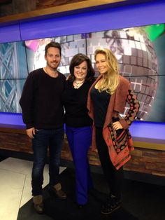 Dancing With the Stars pro dancers with me in the studio! Love, love, love Kym Johnson & Tristan MacManus! pic.twitter.com/Prh3iRht7d