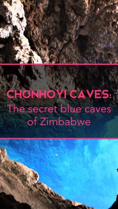 Have you never heard about the Chonhoyi Caves? Guess what, I hadn't either. But when driving from Kariba to Harare we made a stopover here to check it out. When stopping we didn't really expect much, as it didn't look very spectacular, but we knew the place is actually surrounded by a National Park, and the Chinhoyi Caves are a National Monument in Zimbabwe, so we decided to give it a try. Read full story on the blog. Zimbabwe, Caves, Check It Out, The Secret, Things To Do, National Parks, Places To Visit, Blog, Voyage