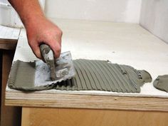 Diynetwork Shows You How To Prep For Then Lay Granite Tiles