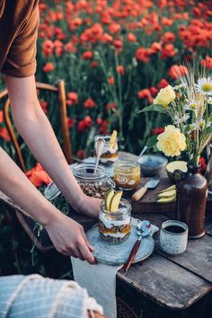 Gluten-free Poppyseed Granola – A Picnic in a field of poppies