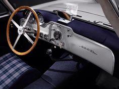 1951 Mercedes-Benz 300 SL interior.