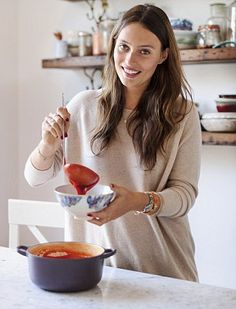 Food blogger Ella Woodward (pictured) is credited with helping obscure ingredients like Maca powder and psyllium husk find popularity