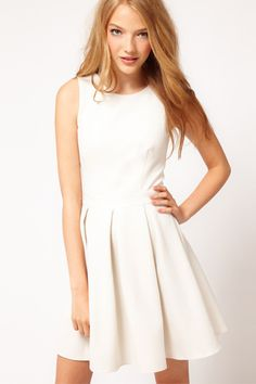 12 little white dresses to wear all season long