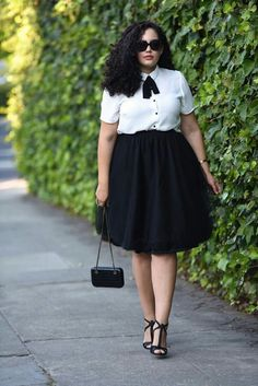 38 Upscale Office Outfit Ideas for Plus Size Women Fashion for chubby women . - Plus Size Work Outfits Mode Outfits, Office Outfits, Stylish Outfits, Fashion Outfits, Fashion Ideas, Skirt Outfits, Dress Fashion, Women's Fashion, Fashion Clothes