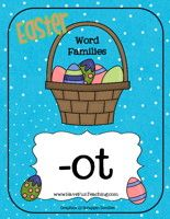 All sorts of Easter themed literacy activitites