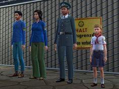 Sims 4 - DDR Uniformen