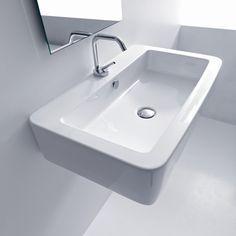 Kerasan Ego Wall Mounted / Vessel Bathroom Sink