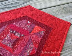 Valentine's Day Showcase – Connie from Quilting by the River   Sew BitterSweet Designs