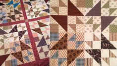Double X 3 quilt blocks