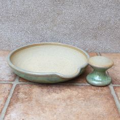 Pestle and mortar or spice and herb grinder ..... hand thrown stoneware pottery