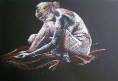 "Saatchi Online Artist: Heather Verrall; Pastel, 2011, Drawing ""Michele """