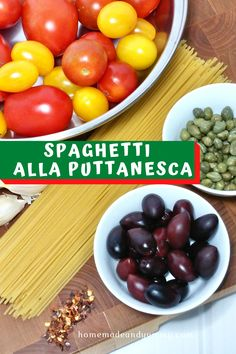 Fresh Tomato Puttanesca Sauce is made in under 30 minutes. Classic Italian recipe with tomatoes, black olives, capers and anchovies. #puttanescapasta #freshtomatosauce #classicitaliansauce #oliveandtomatosauce Incredible Recipes, Great Recipes, Pasta Puttanesca, Pasta Casserole, Pasta Sauces, Homemade Pasta, Lunches And Dinners, Pasta Salad, Italian Recipes