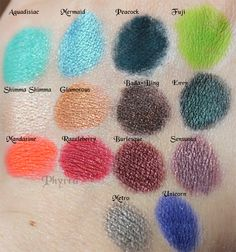 Even More Makeup Geek Eyeshadow Swatches. Click Thru to see more!
