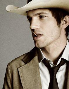 Ashton Kutcher by Tom Munro