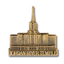 Jordan River Temple Pin - $4.95