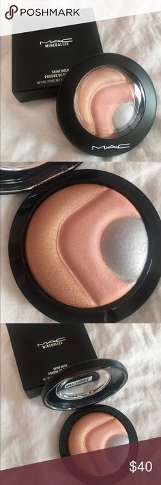 MAC Mineralize Skinfinish MAC Otherearthly, from the Future MAC Collection. Limited Edition. A luxurious velvet-soft face powder with a radiant finish. Adds the perfect highlights to cheeks, brows, or an overall ultra deluxe polish to the face. MAC Cosmetics Makeup Face Powder