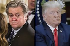 Trump won't definitively say he still backs Bannon