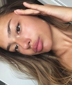 """""""You don't have to remind someone that they look way better without makeup e. Glowy Makeup, Glowy Skin, Flawless Skin, Natural Makeup, Beauty Makeup, Hair Beauty, Without Makeup, Aesthetic Makeup, Pretty Face"""
