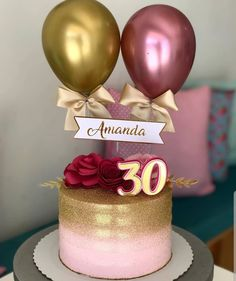 I love this idea to use balloons for cake! Crazy Birthday Cakes, Quinceanera Cakes, Purple Cakes, Traditional Wedding Cakes, Icing Techniques, Balloon Cake, Just Cakes, Colorful Cakes, Take The Cake