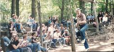 Pete Seeger at University Settlement Camp