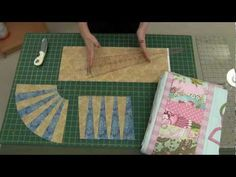Cutting wedges using the new Sew Easy 10 Degrees Wedge Shaped Ruler