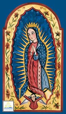 Our Lady of Guadalupe  By Arthuro Olivas
