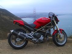 ducati m900 | Scott Nelsons M900 This was taken at the very south end of Marin ...