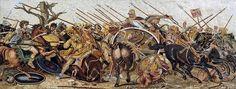 Alexander Battle Mosaic