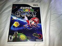 NINTENDO Wii SUPER MARIO GALAXY VIDEO GAME COMPLETE RARE.. USD 5.11 Ebay Shopping, Super Mario, Nintendo Wii, Video Games, Videogames, Video Game