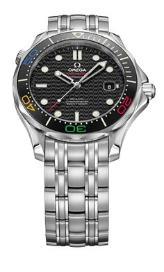 Discover the Omega Rio 2016 Collection. Six limited watches being worth collecting Popular Watches, Best Watches For Men, Old Watches, Automatic Watches For Men, Vintage Watches For Men, Luxury Watches For Men, Omega Seamaster Diver 300m, Mens Watch Brands, Watch Sale