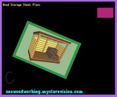 Wood Storage Sheds Plans 160848 - Woodworking Plans and Projects!
