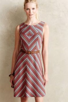 Eva Franco Marion Fit-and-Flare Dress available at Anthropologie