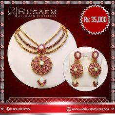 Take the breath away of others  Product: Necklace Set http://www.alomanjewellers.com/product-category/necklaces/  100% Pure 925 Silver. Free Repolish After 1 Year. 3days Money Back Policy.  Address: Al Oman Jewellers Ocean Mall, 2nd Floor Opp Nishat Linen Karachi, Pakistan Phone: 021 35166640 Email: Info@Alomanjewellers.Com  #AlOmanJewellers #Jewellry #ExclusiveJewellry #Rings #Bracelets #Lockets #Tops #BridalSets #FittedRings #JewellryDesigns #Remanufacturing #Remodeling #Specialoffers…