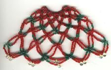 Beaded Ornament Cover: Tutorial including Introduction and Materials. This is a great design if you are wanting to make beaded covers
