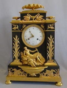 .Reloj antiguo imperio Frances