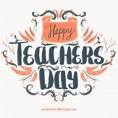 Happy Teachers Day Card, Teachers Day Celebration, Teachers Day Greetings, World Teacher Day, World Teachers, Friendship Day Gifts, Creative Birthday Cards, Teacher Appreciation Cards, Teachers' Day