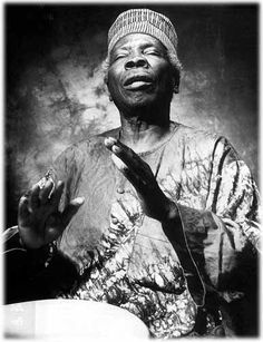 """As a young musician, trying to find her way to her own voice, I had the honor to work closely with Baba when a recording project led to a tour with Drums of Passion. Baba, whenever you sang """"Shango,"""" tears would well up-your voice continues to be a huge musical influence!"""