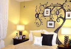 Tree wall decal.