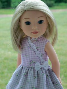 Wellie+Wisher+Faux+Wrap+Dress/++Clothes+for+by+Farmcookies+on+Etsy