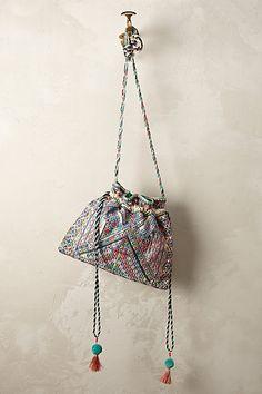 Anthropologie EU Kaleidoscope Mini Bucket Bag