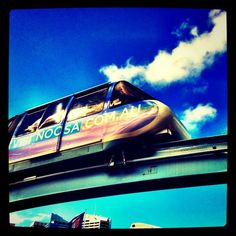 Monorail in Sidney Instagram Users, Instagram Posts, Train Travel, Change My Life, Sydney, Cool Pictures, Vehicle, Journey, France