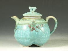 Personal teapot 27 - One-of-a-kind small teapot collection - by hodaka pottery